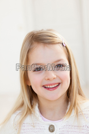 young girl with blond hair