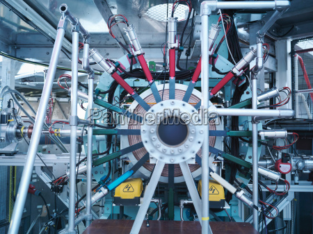 part of a particle accelerator
