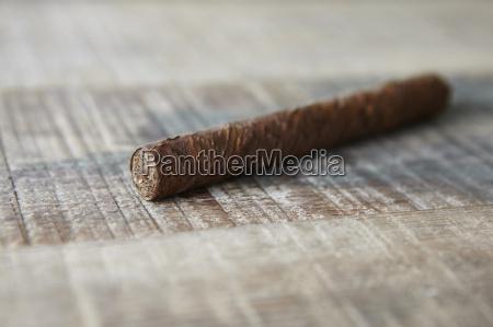 cuban cigar on table cuba