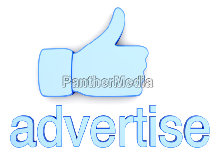 thumbs up advertise