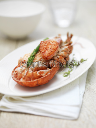 dressed canadian lobster
