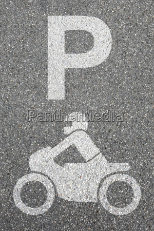 parking motorcycle parking motorcyclists road