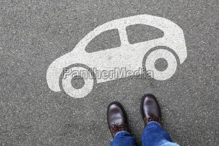 man man car vehicle traffic mobility