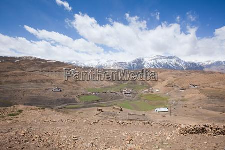 comic village spiti valley himachal pradesh