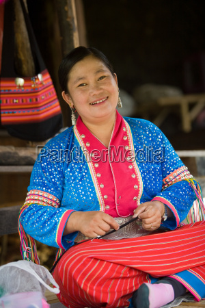 woman from palong tribe
