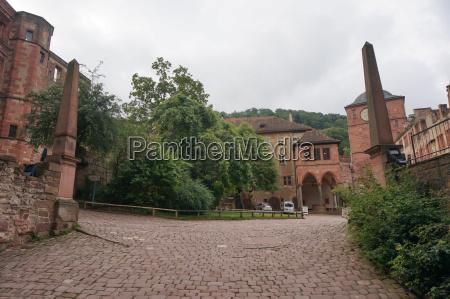 heidelberg castle interior