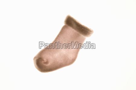 backlit baby sock