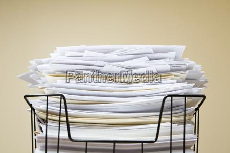 overflowing inbox