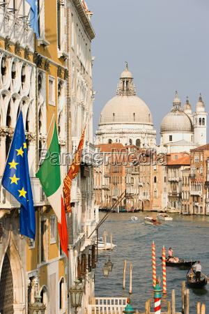grand canal and santa maria della