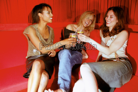 women having a drink