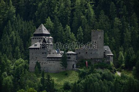 finstergruen castle lungau austria