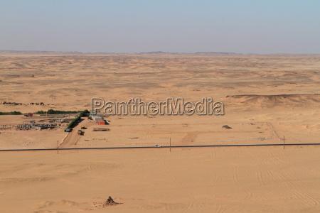 the nile in the sahara desert