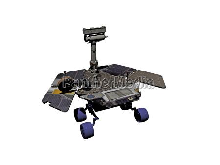 mars rover rolls over mars surface