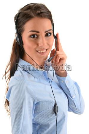 call center operator customer support helpdesk
