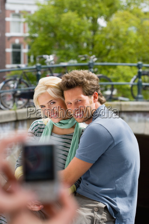 couple being photographed