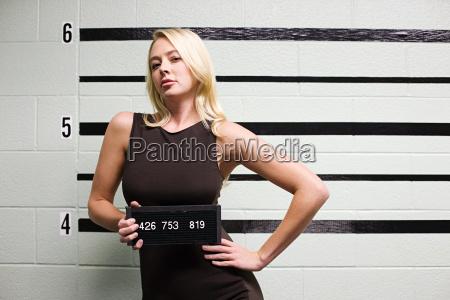 mugshot of female criminal