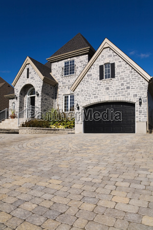 large house and driveway