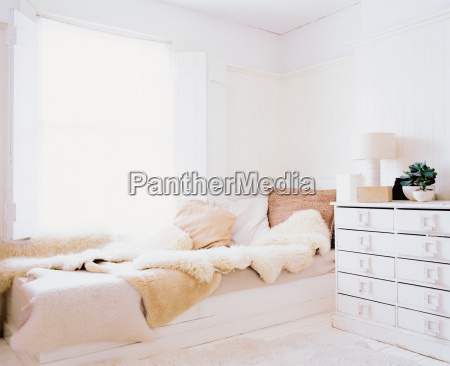 comfortable and bright bedroom