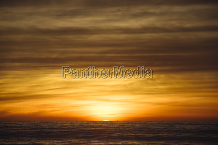 sunset over ocean san diego california