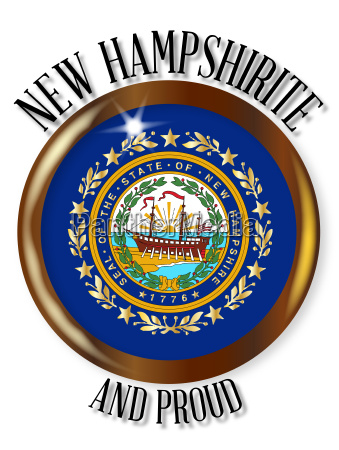 new hampshire proud flag button