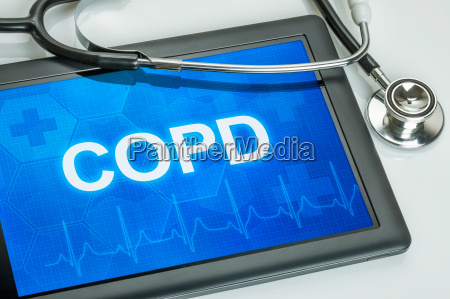 tablet diagnosed with copd in the