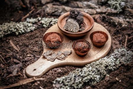 truffles candy dessert