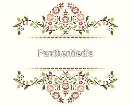 decorative background sixty one