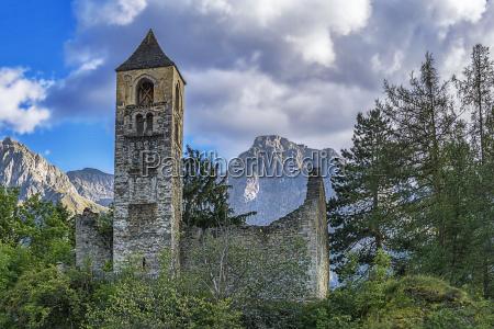 ruins of san peder baseglia in
