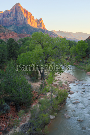 the watchman and virgin river from
