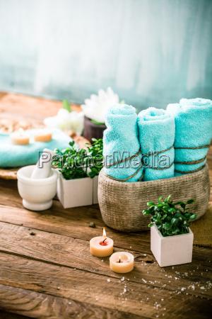 spa setting