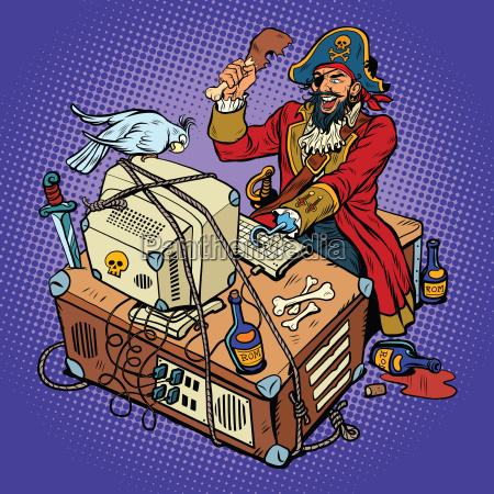software piracy the hacker captain