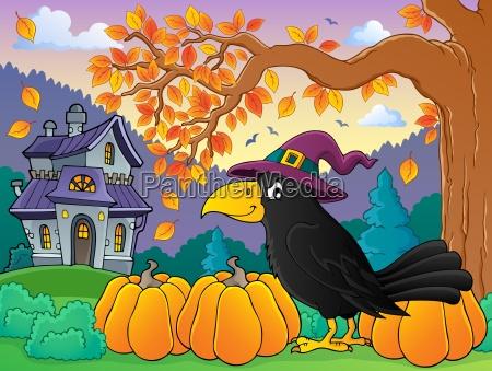 witch crow theme image 4