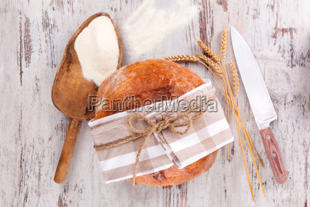 bread baking background