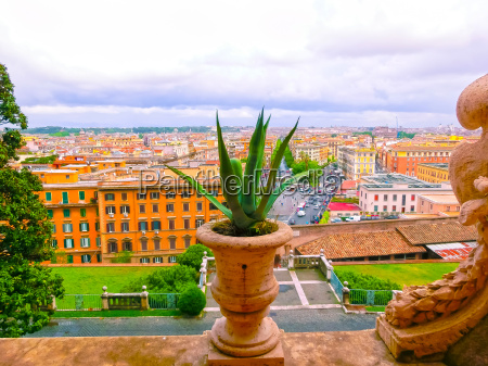 the view of rome from vatican