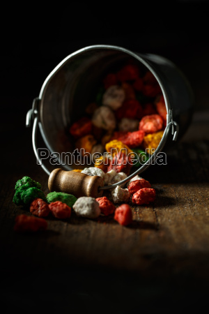 colorful kids sweets
