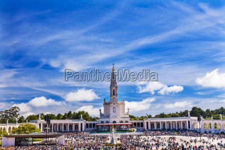 may 13th celebration mary basilica of