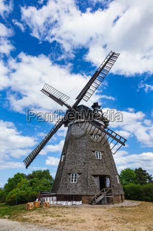 the windmill in benz on the