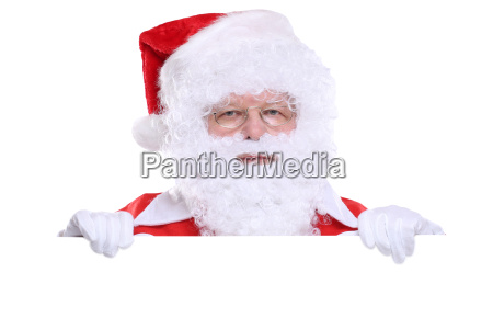 santa claus christmas shield text free