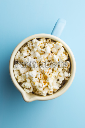 popcorn in cup