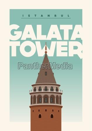 title galata tower galata kulesi