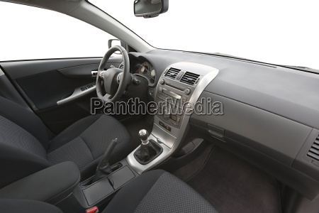 car interior view
