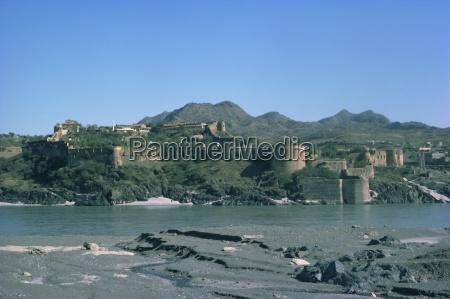 attock fort and river induspakistanasia