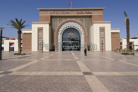 train station marrakech morocco north africa