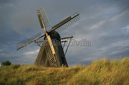 windmill at open air museum skagen