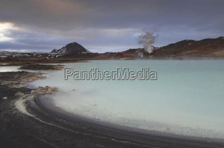 bjarnaflag geothermal power station and diatomite