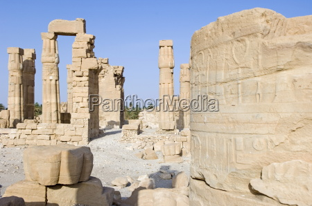 the temple of soleb built during