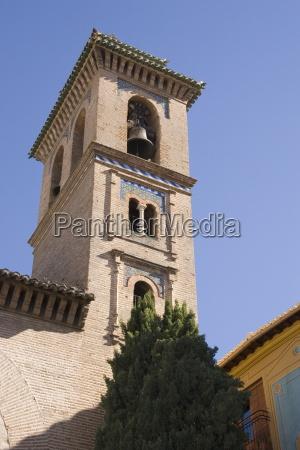 bell tower of santa anna church