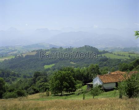 foothills of the picos de europa