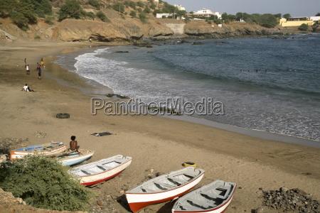 praia beach santiago cape verde islands