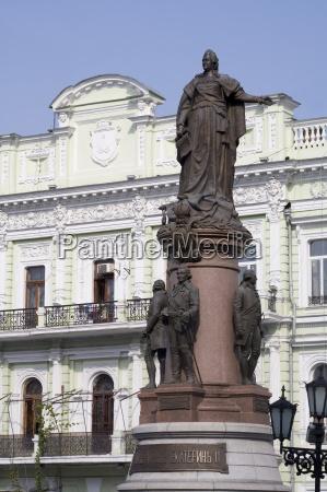 catherine the great statue odessa ukraine